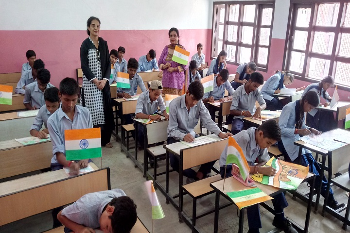 Government Model High School-Painting Competition