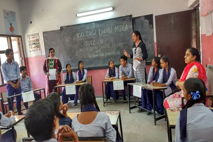 Government Model High School-Quiz Competition