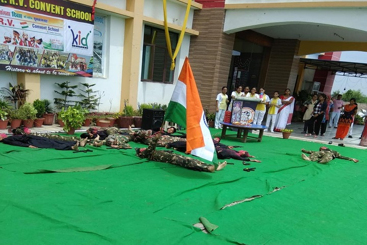 St R V Convent School-Independence Day