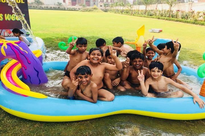 St R V Convent School-Pool Splash