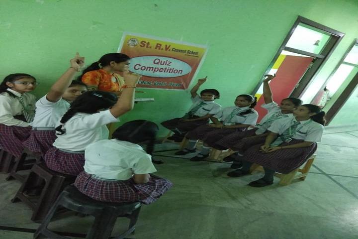 St R V Convent School-Quiz