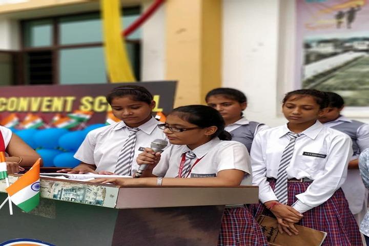 St R V Convent School-Speech