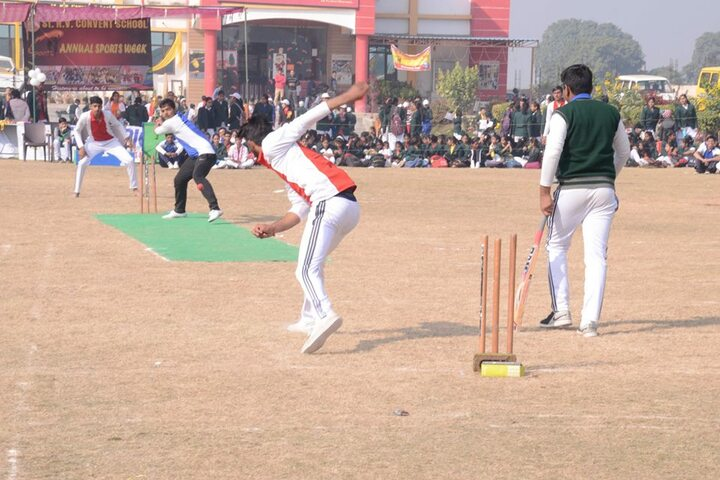 St R V Convent School-Sports Day