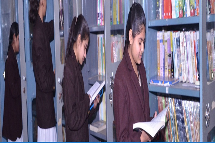 St Vivekanand Public School-Library