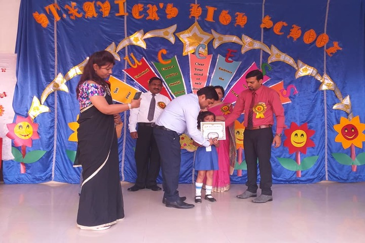 St Xaviers High School-Prize Distribution
