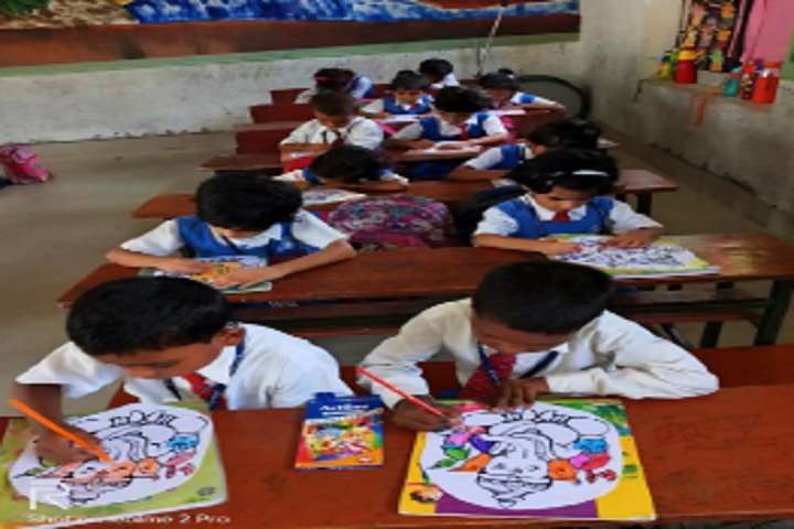 St Xaviers High School-Childrens Art work