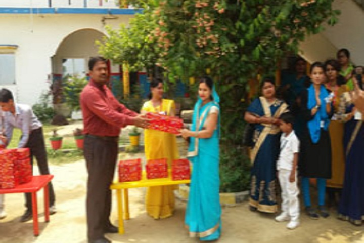 St Xaviers High School-Gift Distribution