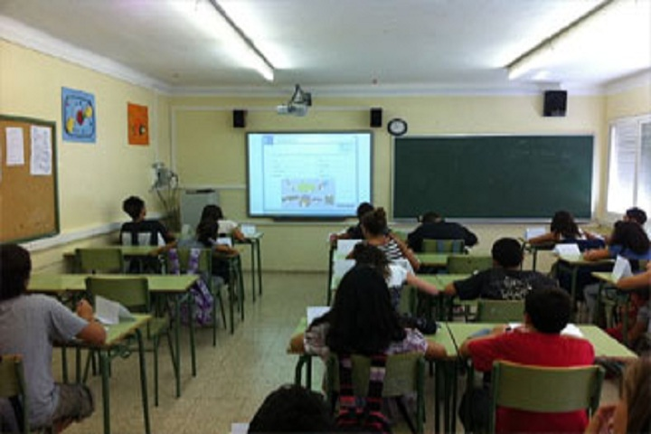 St Xaviers High School-Digital Classroom