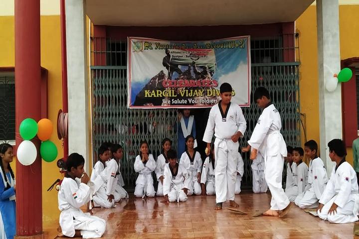 St Xaviers School-Karate