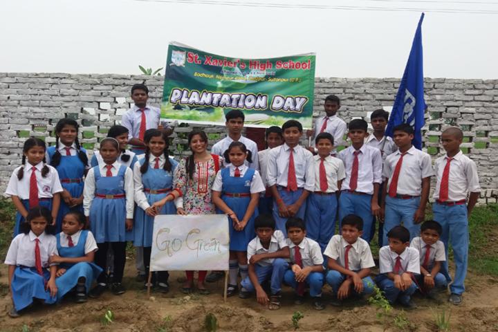 St Xaviers School-Plantation Day