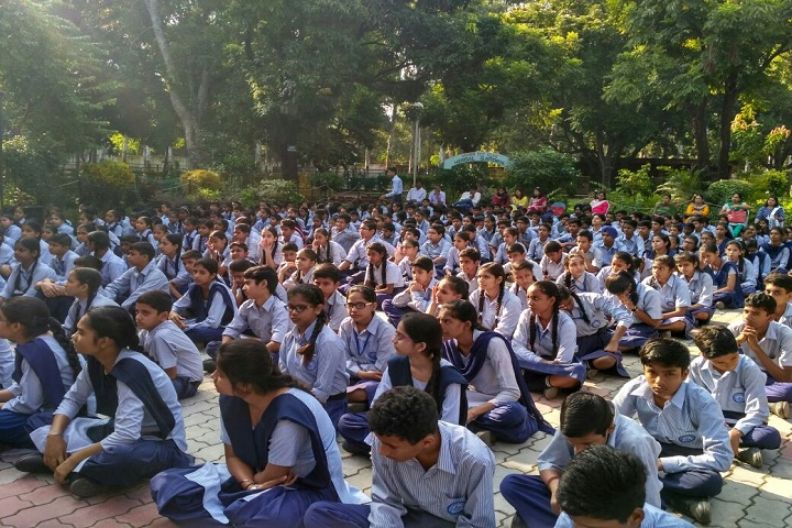 Government Model Senior Secondary School-Awareness about Swachhta