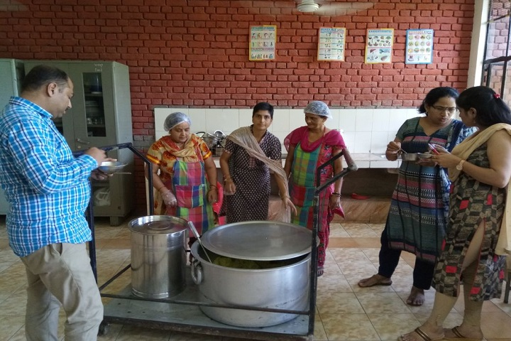 Government Model Senior Secondary School-Mid Day Meal