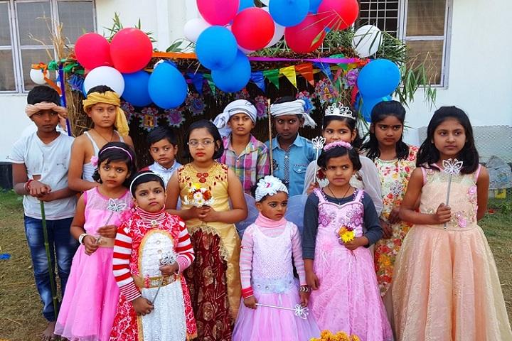 St Xaviers School-Fancy Dress Competition