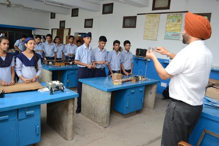 Government Model Senior Secondary School-Physics Lab