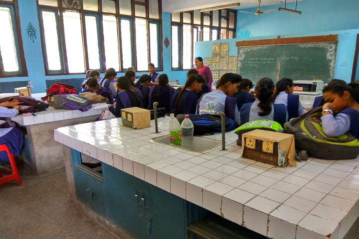 Government Model Senior Secondary School-Home Science Lab