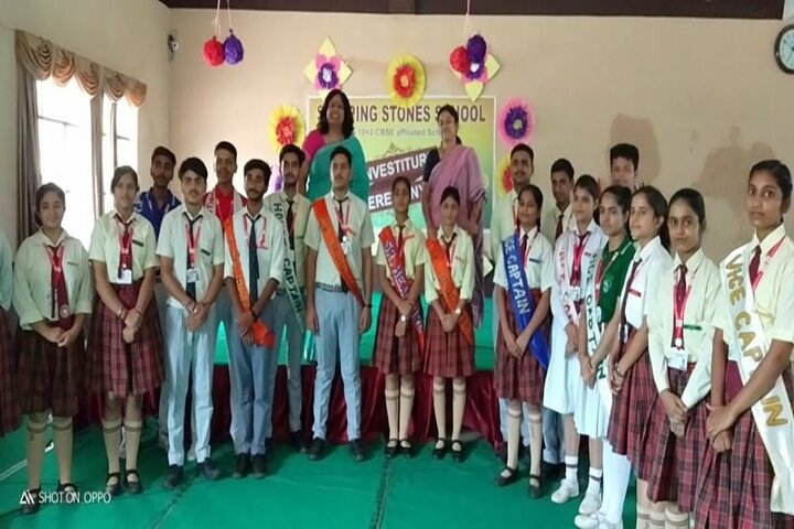 Stepping Stones School-Investiture Ceremony
