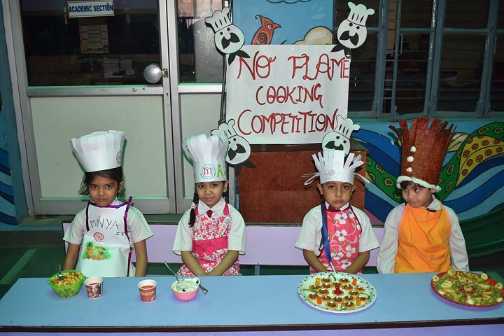 Study Well Public School-Cooking Competition