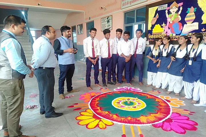 Study Well Public School-Rangoli Competition
