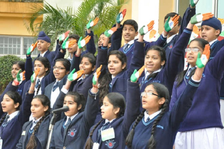 Government Model Senior Secondary School-Independance Day Celebration
