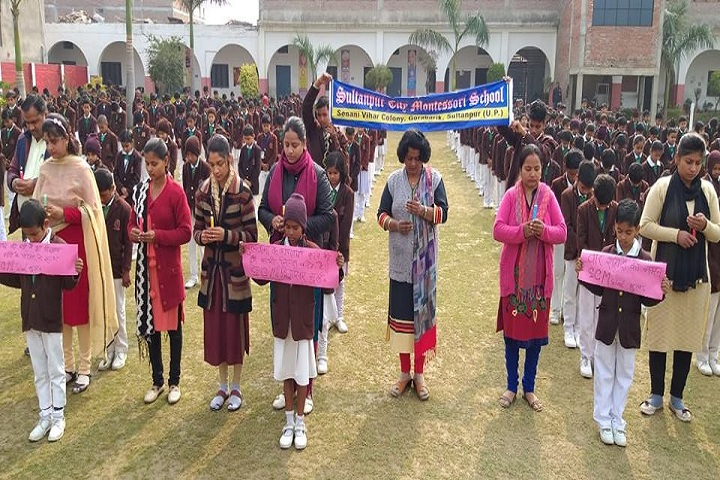 Sultanpur City Montessori-Activity