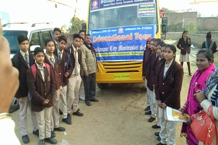Sultanpur City Montessori-Educational Trip