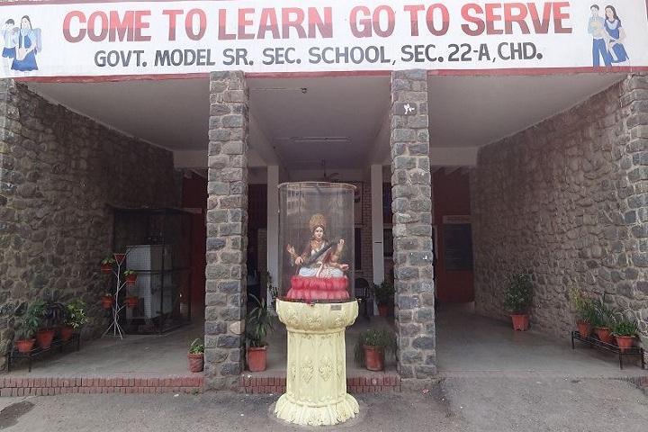 Government Model Senior Secondary School-Entrance