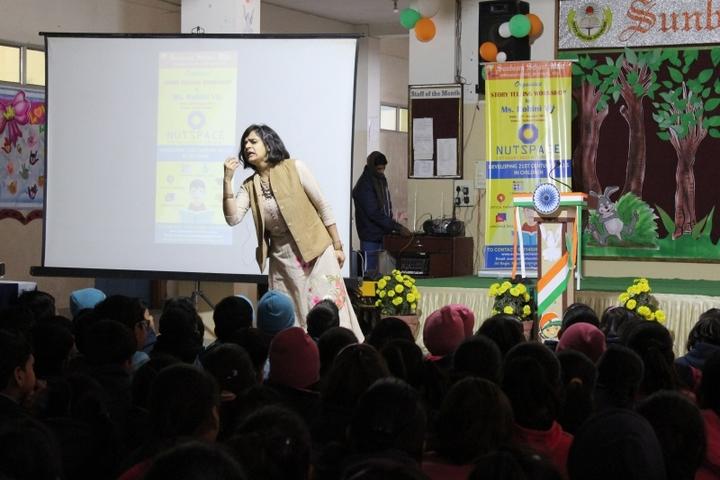 Sunbeam School-Story Telling