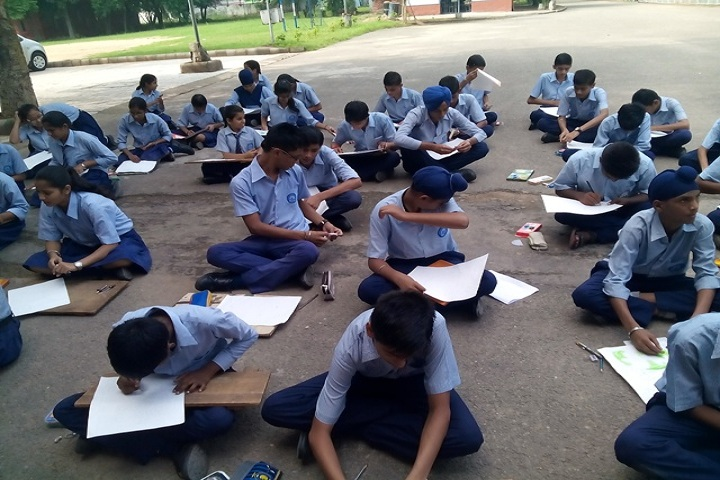 Government Model Senior Secondary School-Painting Competition