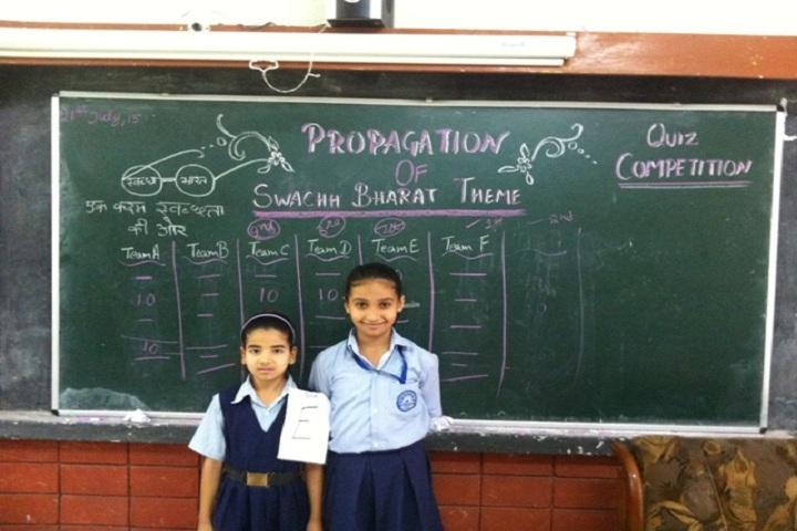 Government Model Senior Secondary School-Quiz Contest