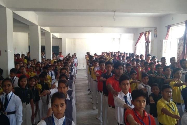 Sunrise Global School-Assembly
