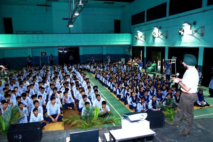 Government Model Senior Secondary School-Awareness Program