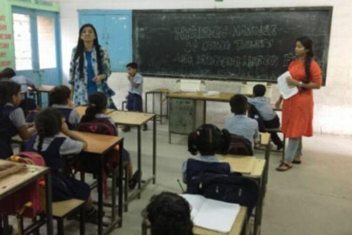 Government Model Senior Secondary School-Classroom