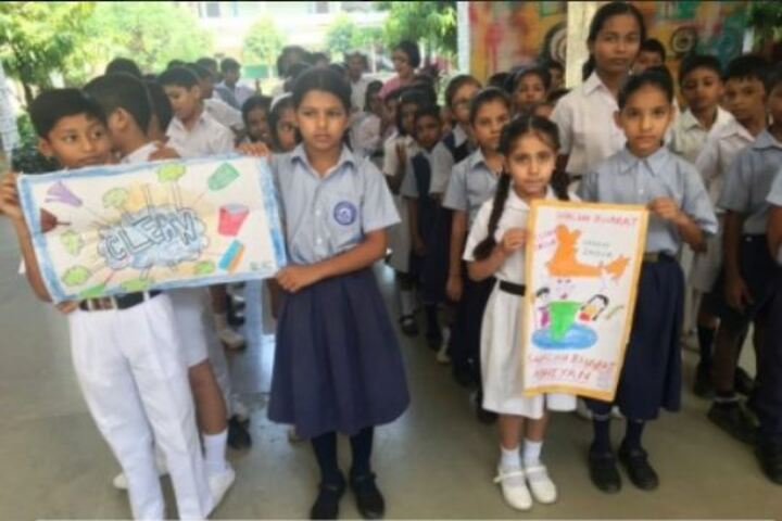 Government Model Senior Secondary School-Cleanliness Activity