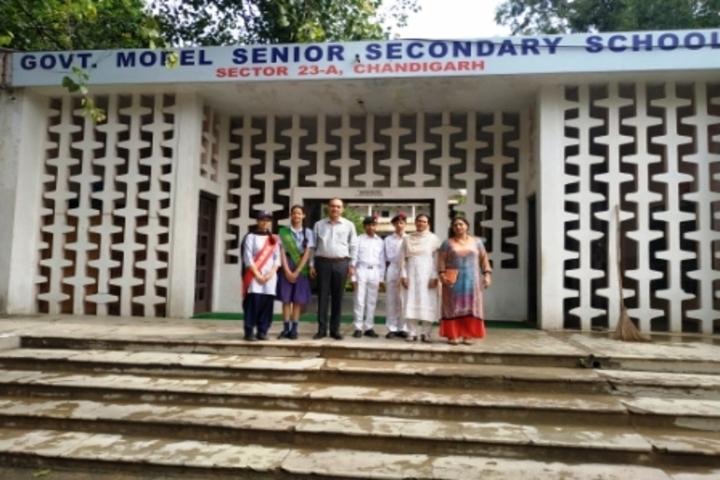 Government Model Senior Secondary School-School Building