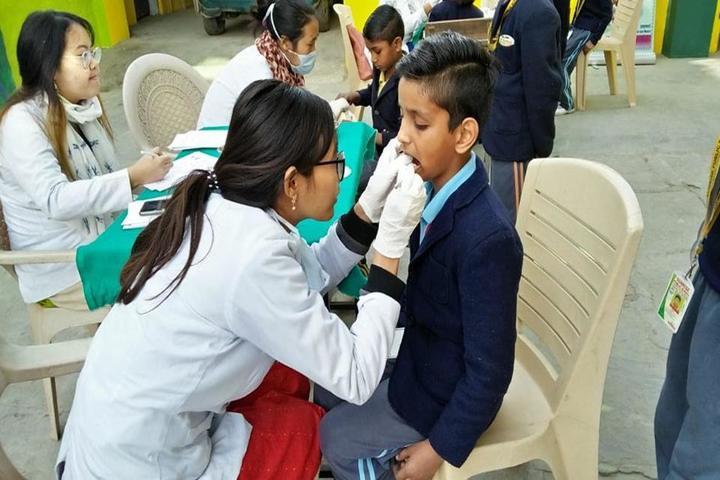 Sunrise Public School-Medical Checkup