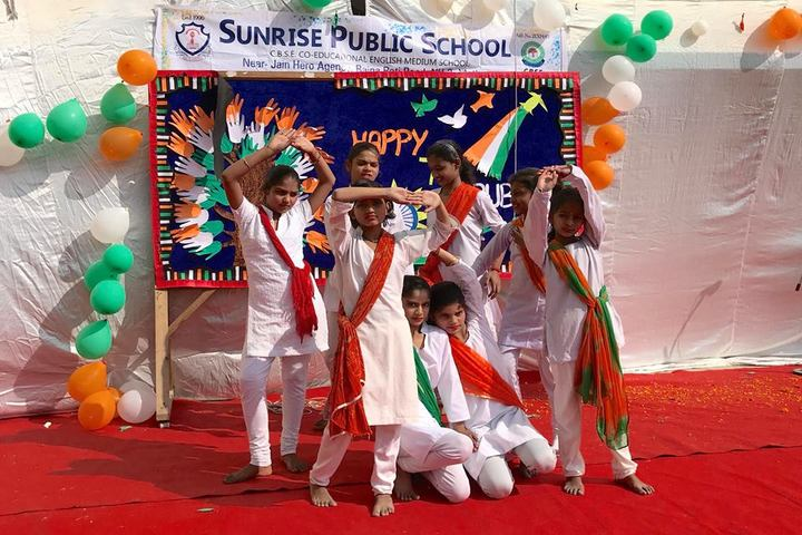 Sunrise Public School-Republic day