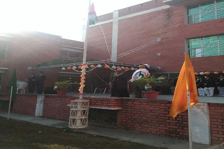 Super International School-Flag Hoisting