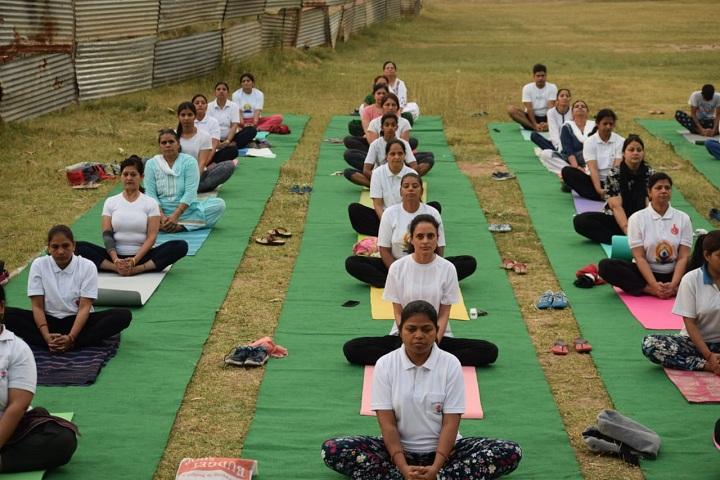 Government Model Senior Secondary School-Yoga Day