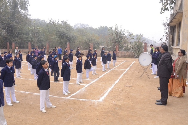 Suresh Chand Memorial Public School-Assembly