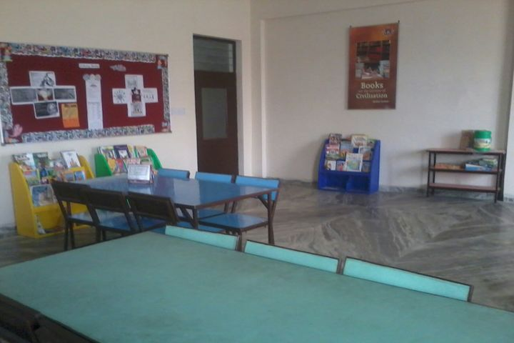 Surevin International School-Library