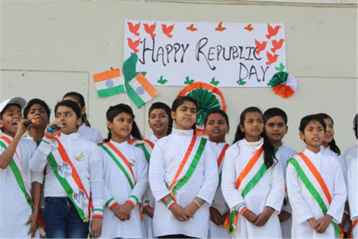 Surmount International School-Republic Day