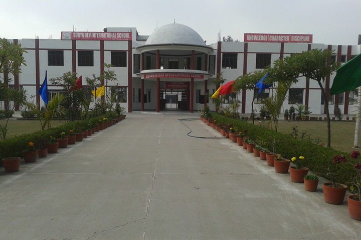 Surya Dev International School-School View