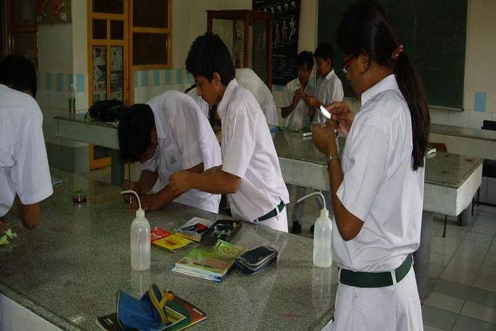 Surya Dev International School-Science Lab