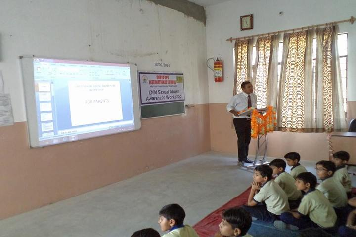 Surya Dev International School-Seminar