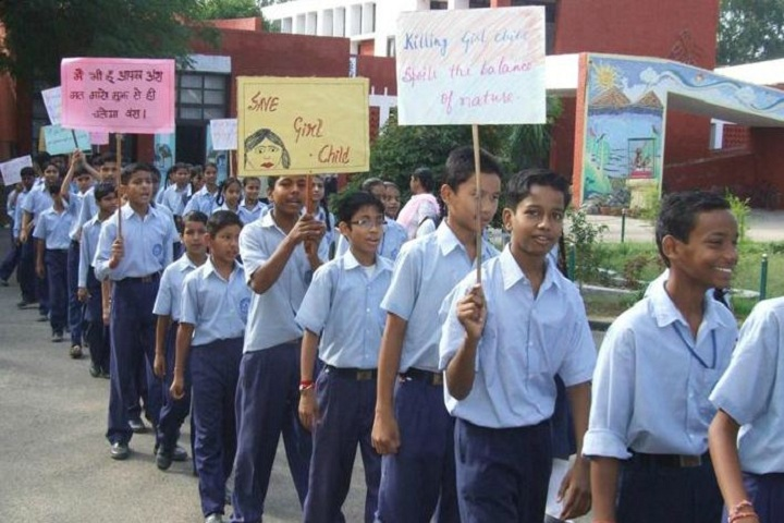 Government Model Senior Secondary School-Rally