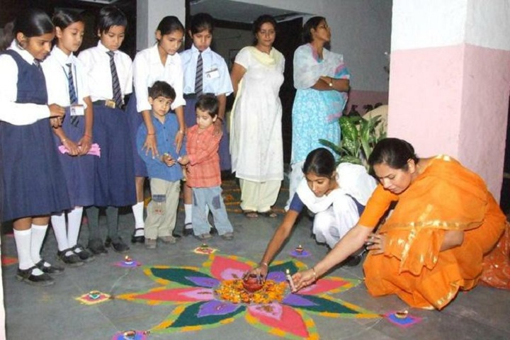 Government Model Senior Secondary School-Rangoli