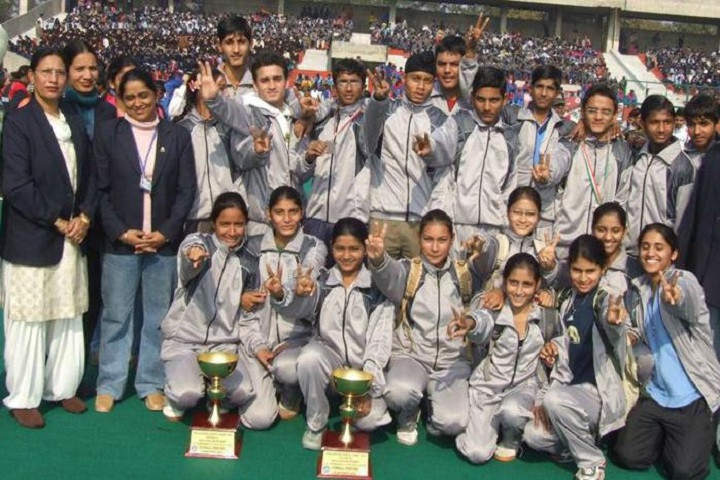 Government Model Senior Secondary School-Sports champions