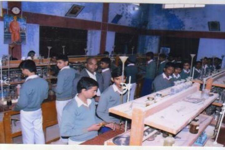 Swami Vivekanand Vidya Ashram-Chemistry Lab