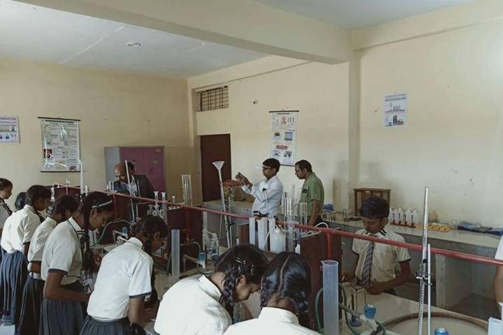 T R C Memorial Public School-Chemistry Lab