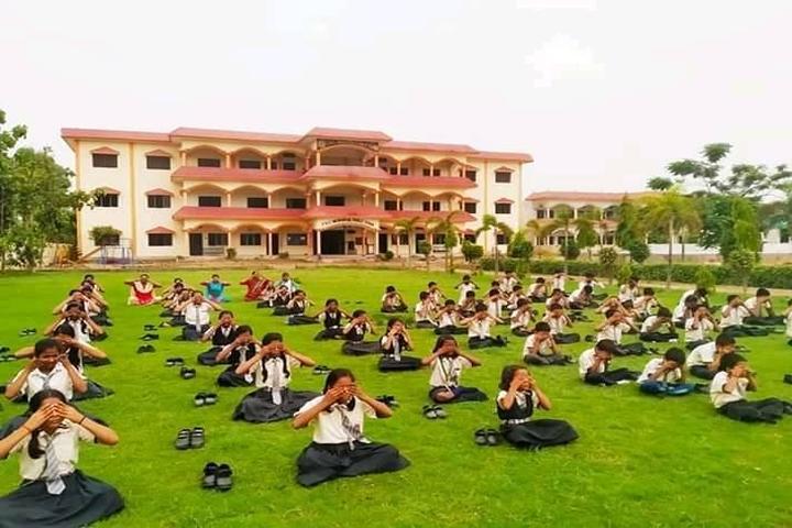 T R C Memorial Public School-Yoga